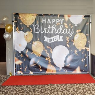 Happy Birthday To You Backdrop