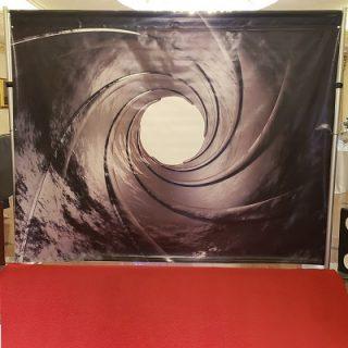 james-bond-007-vinyl-backdrop-rental