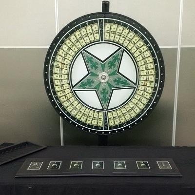 Money Wheel Table Rental