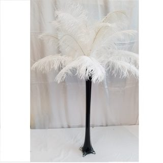 White Feather Centerpiece Rental