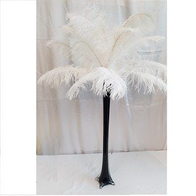 White Feather Centerpiece Rental