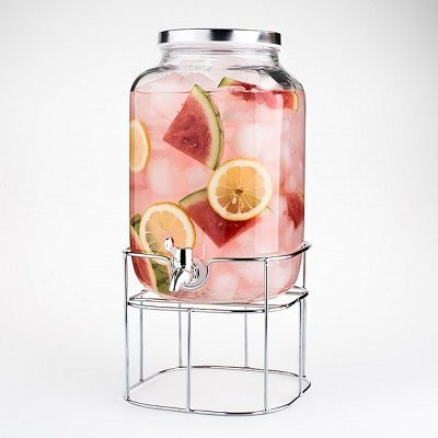 Beverage Dispenser With Stand