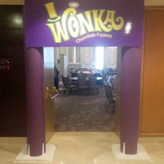 Willy Wonka Entrance
