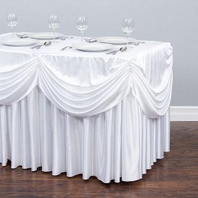 Chiffon Tablecloth Pleated Skirt