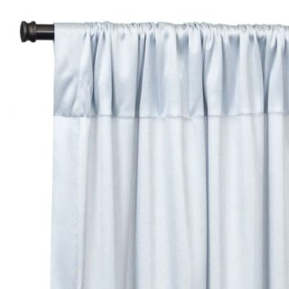 Silver Chiffon Backdrop Draping