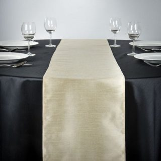 Shantung Silk Table Runners
