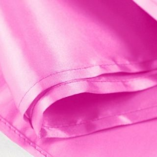 Fuchsia Satin Table Runner