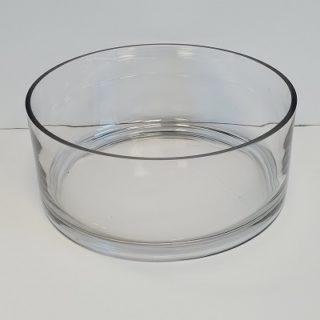 10 Inch Round Glass Bowl