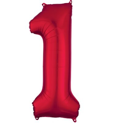 Number 1 Red Balloon
