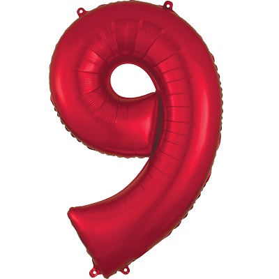 Number 9 Red Balloon
