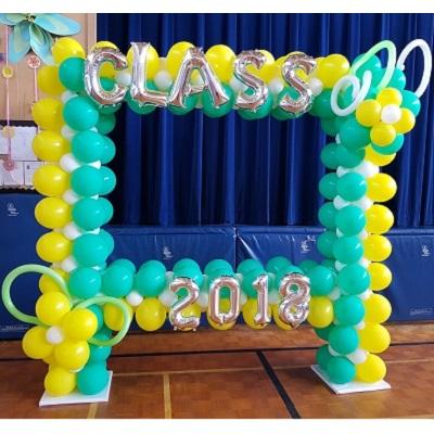 Picture Frame Balloon Column
