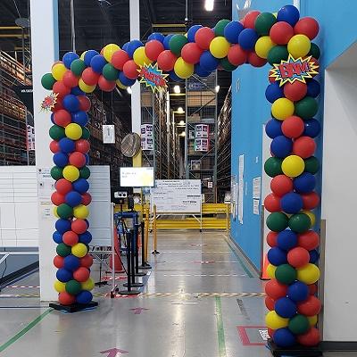 Square Balloon Arch Toronto