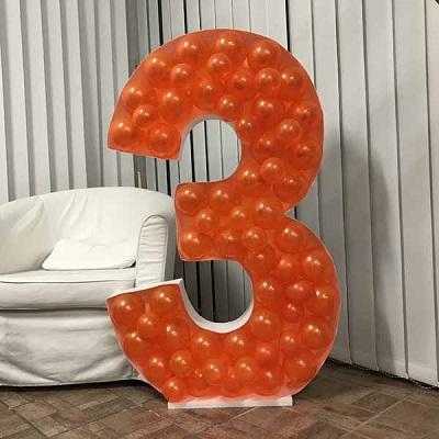 Mosaic Balloon Number